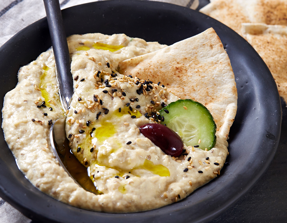 Middle eastern eggplant dip