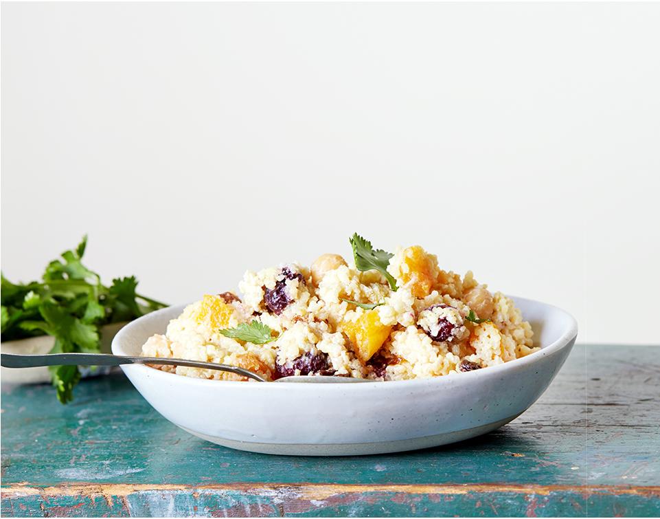 Mango couscous salad
