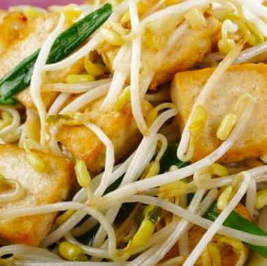 Stir-fry tofu salad