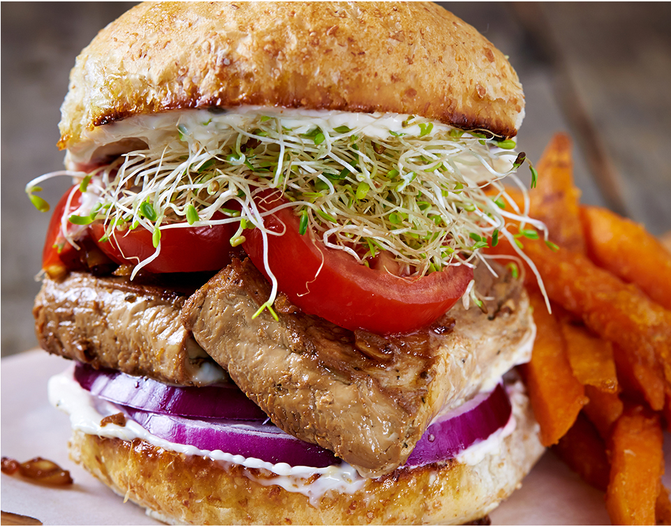 Tofu cutlets & cutlet sandwiches